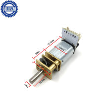 12mm Micro DC Geared Motor High Torque Low Speed for Stomach Tightening Machine
