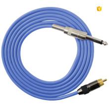 N1006-20B Силиконовый кабель с зажимом для шнура для татуировки 1,8 метра длиной
