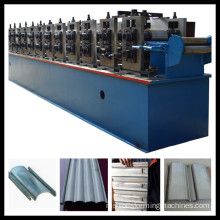 Rolling shutter door roll rolling machine