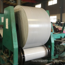 white color food grade rubber conveyor belt