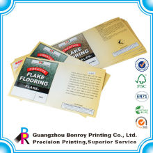 Custom printed self adhesive sticker label printing