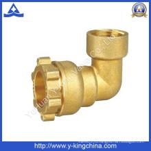 Установка латунной муфты для компрессионных труб (YD-6052)