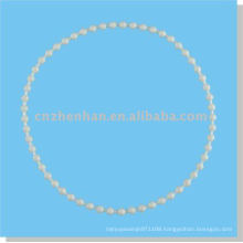 roller blinds components-4.5*6mm endless plastic roller blind ball chain and vertical blind ball chain