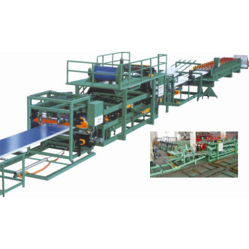 EPS and Meneral Wool Sandwich Panel Forming Machine