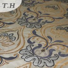 Copiar tejido de lino Tela Jacquard de sofá