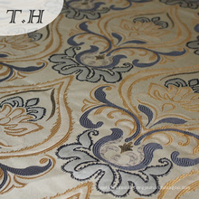 Copy Linen Sofa Fabric Jacquard Fabric