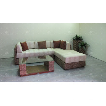 Top Selling Indoor Natural Water Hyacinth Sectional Sofa Set