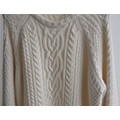 Ladies Winter Patterned Knit Pullover Sweater