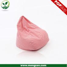 Спальный диван бин мешок шаблон стул для девочек, розовый бобов мешок сиденье подушки