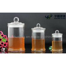 150ml 350ml 700ml Airtight Glass Storage Jar with Glass Lid