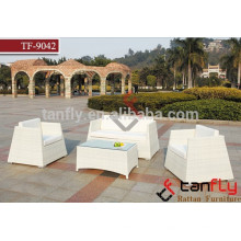 Hot selling modern latest rattan sofa set outdoor/indoor furniture