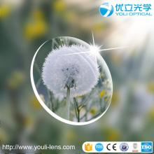 1,56 lente cinza fotocromática UV400 (mudança rápida) com super hidrofóbico