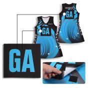 Custom sport netball uniform Girl bodysuit Netball Dress