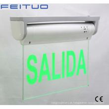 Sinal de saída, luz de emergência, emergência LED saída sinal de saída de LED de sinal, saída de luz,