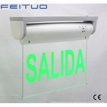 Señal de salida, luz de emergencia, LED emergencia salida de señal de salida LED de señal, salida de luz,