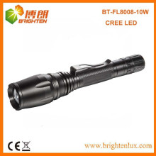 Wholesale Multi-functional 5 Modes Tactical Aluminum Dimming 10W cree xml2 t6 led Most Powerful Rechargeable Flashlight