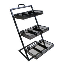 Countertop Wire Rack/ Five Tiers Metal Exhibition Stand (AD-0801-U)