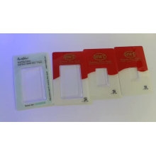 Security silver/gold coin/bar sleeve packaging PVC card