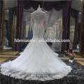 Vestido noiva queue de poisson ouvert dos longue robe de mariée maxi sirène