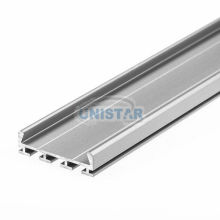 Gip Series Surface Mount Anodized Led Aluminium Profile Housing With End Caps