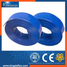 Gute Qualität großer Durchmesser PVC Layflat Schlauch Rohr für die Landwirtschaft und Industrie