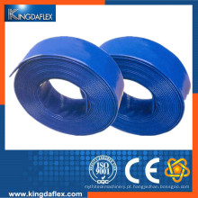 Boa qualidade grande diâmetro PVC Layflat tubo de mangueira para agricultura e industrial