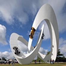 décoration de jardin statue en métal Craft sculpture moderne en plein air