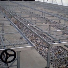 Purchasing for Stainless Greenhouse Seedling Bed Adjustable Movable Rolling Nursery Bench supply to Romania Wholesale