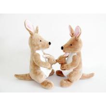 Factory Wholesale Soft Animal Stuffed Kangaroo Plush Toy