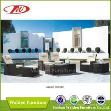 Canapé extérieur en meuble en rotin (DH-862)
