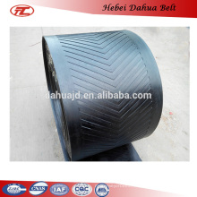 DHT-156 rubber conveyor belt for conveying granulated