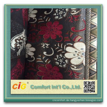 100% Polyester Sofa Chenille Stoff Chenille Stoff für Sofa Kissenbezug