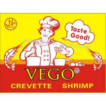 Camarão Cubo, camarão em pó, temperos e condimentos