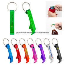 Customized Metal Beer or Coke Bottle Opener Keyrings with Crab-Shaped