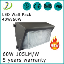 ETL Listado 40w Led Wall Pack