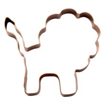 animal lion one cookie cutter
