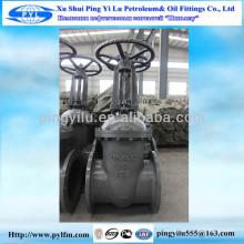 Z41H-16C Gost valve de porte / Basse pression / Manuel / Pound / double bride / acier / acier au carbone / acier inoxydable