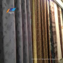 Textile à la maison 100% polyester tissu de canapé de rideau occultant