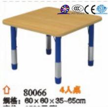 Mesa de madeira de 2016 retângulo para crianças