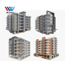 2020 Modern Design Customized Steel Structure Prefabricated Apartment Building For Sale
