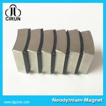 Moteur synchrone d'aimant permanent de forme d'arc de N35-N52 à vendre