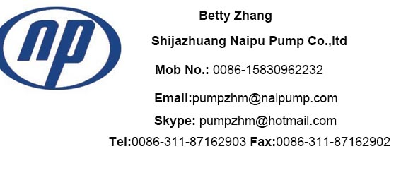 slurry pump contact information