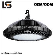 Accesorios de iluminación de aluminio a presión fundición Industrial llevó alta bahía UFO carcasas