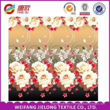 100 tissus de polyester 75 * 180D 100gsm pour des ensembles de literie