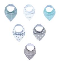 colorful&cute baby bib drool bandana custom baby bibs
