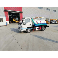 Forland mini 4x2 mud sewage suction truck