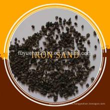 Arena de hierro de magnetita 10 N / polvo de hierro nano
