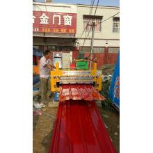 Color de acero para techos para máquina de doble capa