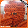 Chinese Manufacture Product Orange Recycle HDPE Plastic Safety Net