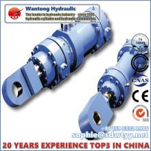 Cilindro de óleo de ação dupla para máquinas de tamanho grande